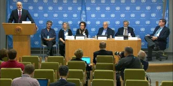 Syria US peace council delegation