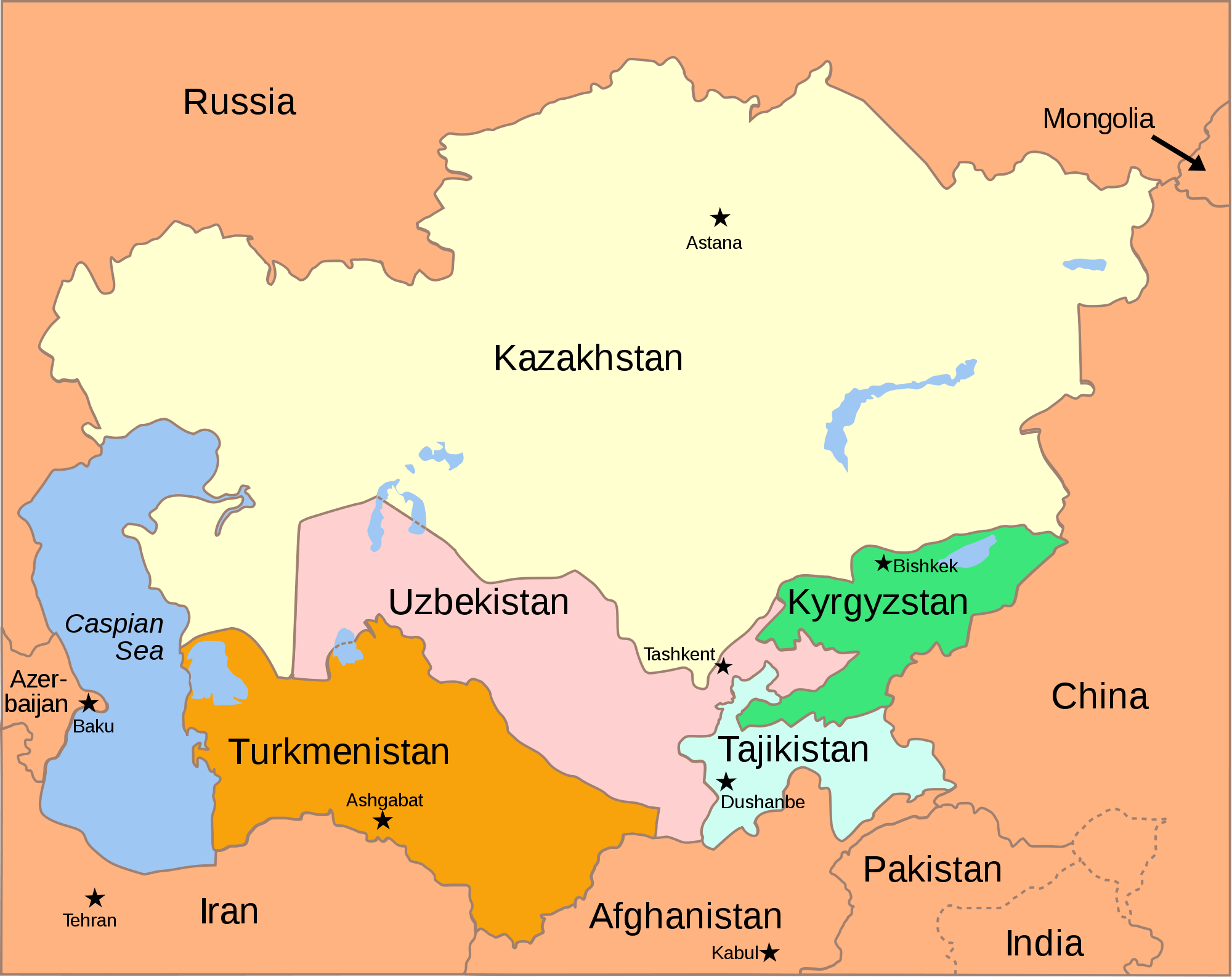 Terrorist Attacks in Central Asian Republics Threaten Eurasian Ambitions